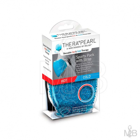 Thera°Pearl - Sports Pack Avec Sangle Chaud / Froid