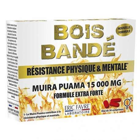 Eric Favre - Bois Bandé Physical & Mental Resistance - 30 Tablets