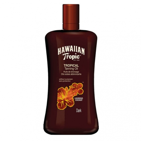 Hawaiian Tropic - Oil without protection (Dark) - 200ml