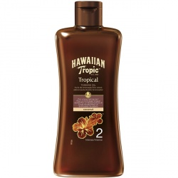 Hawaiian Tropic - Huile De Bronzage Intense SPF 2 - Flacon de 200ml