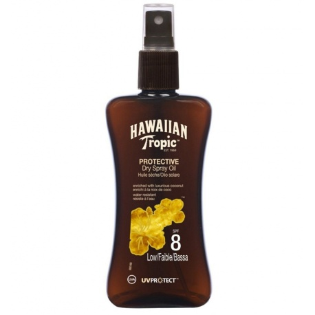 Hawaiian Tropic - huiles sèches SPF 8 Mini - 100ml