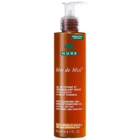 Nuxe - Rêve de Miel Cleansing and make-up Removing- 200ml