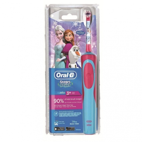 Oral-B - KIDS Stages Power Snow Queen