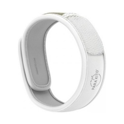 Para'Kito - White Mosquito Repellent Band + 2 Refills