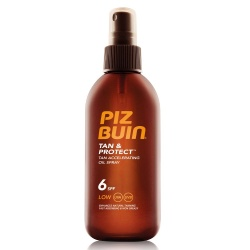 Piz Buin - Tan & Protect Tanning Accelerator Oil spray SPF 6 - 150ml