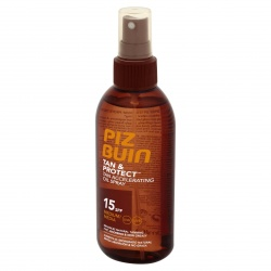 Piz Buin - Tan & Protect Huile Solaire SPF 15 - 150ml