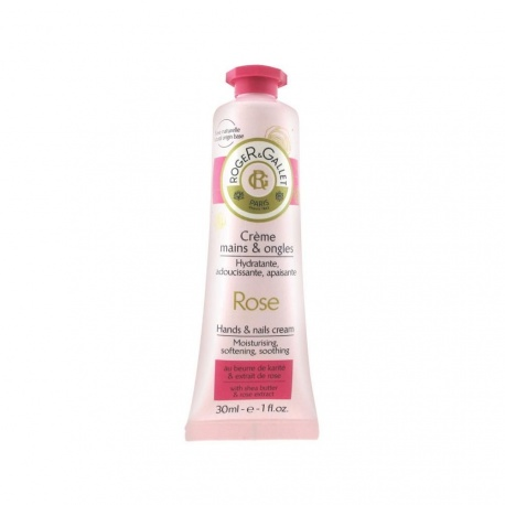 Roger & Gallet - Hands and Nails Cream Rose - 30ml