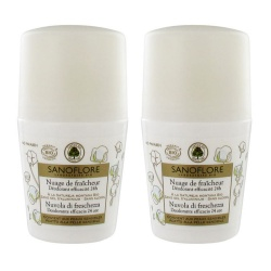 Sanoflore - Cloud Of Fresh Deodorant Ball 24h - Lot of 2 x 50ml
