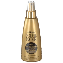 Soleil Noir - Dry Oil Spray with Vitamins No Protection - 150ml