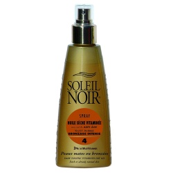 Soleil Noir - Dry Oil Spray with Vitamins SPF 4 - 150ml