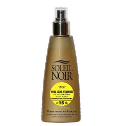 Soleil Noir - Dry Oil Spray with Vitamins SPF 15 - 150ml