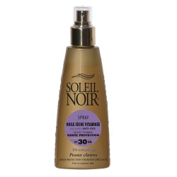 Soleil Noir - Dry Oil with Vitamins SPF 30 - 150ml
