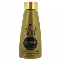 Soleil Noir - Milk with Vitamins Without Filter - 150ml