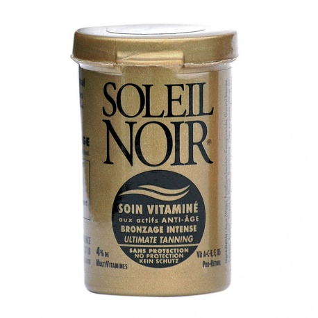 Soleil Noir - Care Cream with Vitamins Without Protection - 20ml
