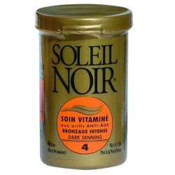 Soleil Noir - Care Cream with Vitamins SPF4 Intense Tanning - 20ml