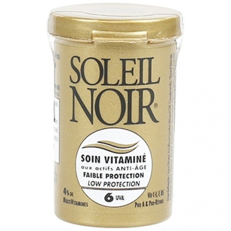 Soleil Noir - Care Cream with Vitamins SPF6 Low Protection - 20ml