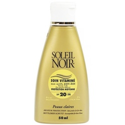 Soleil Noir - Cream Care with Vitamins SPF 20 - 50ml