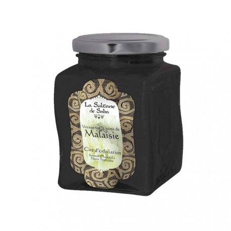 La Sultane de Saba - Exfoliating Wax Champaka and Tropicales Flowers - 300gr