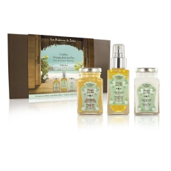 The Sultane de Saba - Tiaré Flower and Aloe Vera Travel Set