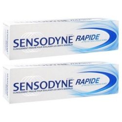 Sensodyne - Dentifrice Rapide Action - 75ml