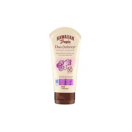 Hawaiian Tropic - Duo Défense - Lotion solaire SPF 50 - 180ml