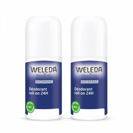 Weleda - Déodorants Roll-On Homme Duo - 2x50ml