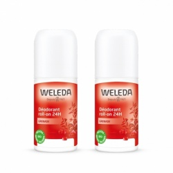 Weleda - Déodorants Roll-On Grenade Duo - 2x50ml