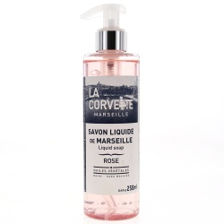 La Corvette - Savon Liquide De Marseille Mains - Rose - 250ml