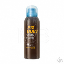 Piz Buin - Protect & Cool Mousse Protection Solaire SPF 10 - 150ml