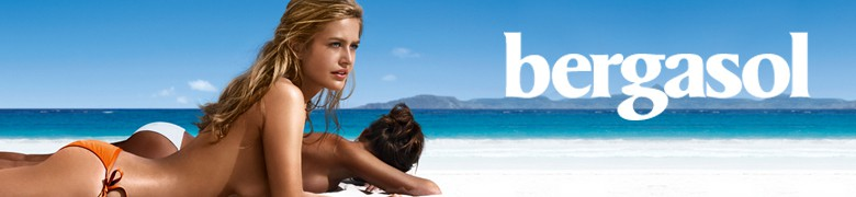 Bergasol  provides a fun golden natural tan and optimal protection. The brand's promise is: